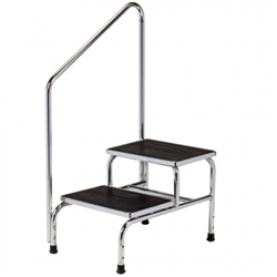 Step Stools Clinton Medical Two Step Step Stool With